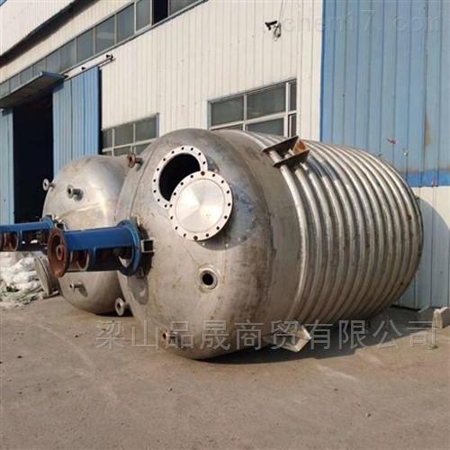 专业回收二手15吨不锈钢反应釜