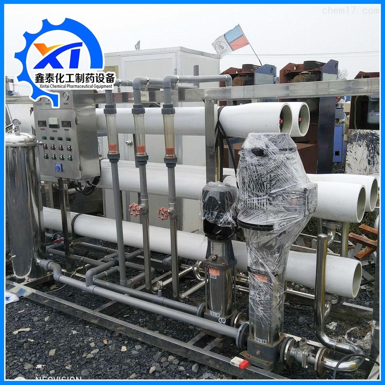 出售100吨二手反渗透水处理设备  厂家价格