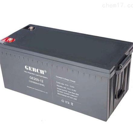美国GERCH GE55-12 12V55AH蓄电池