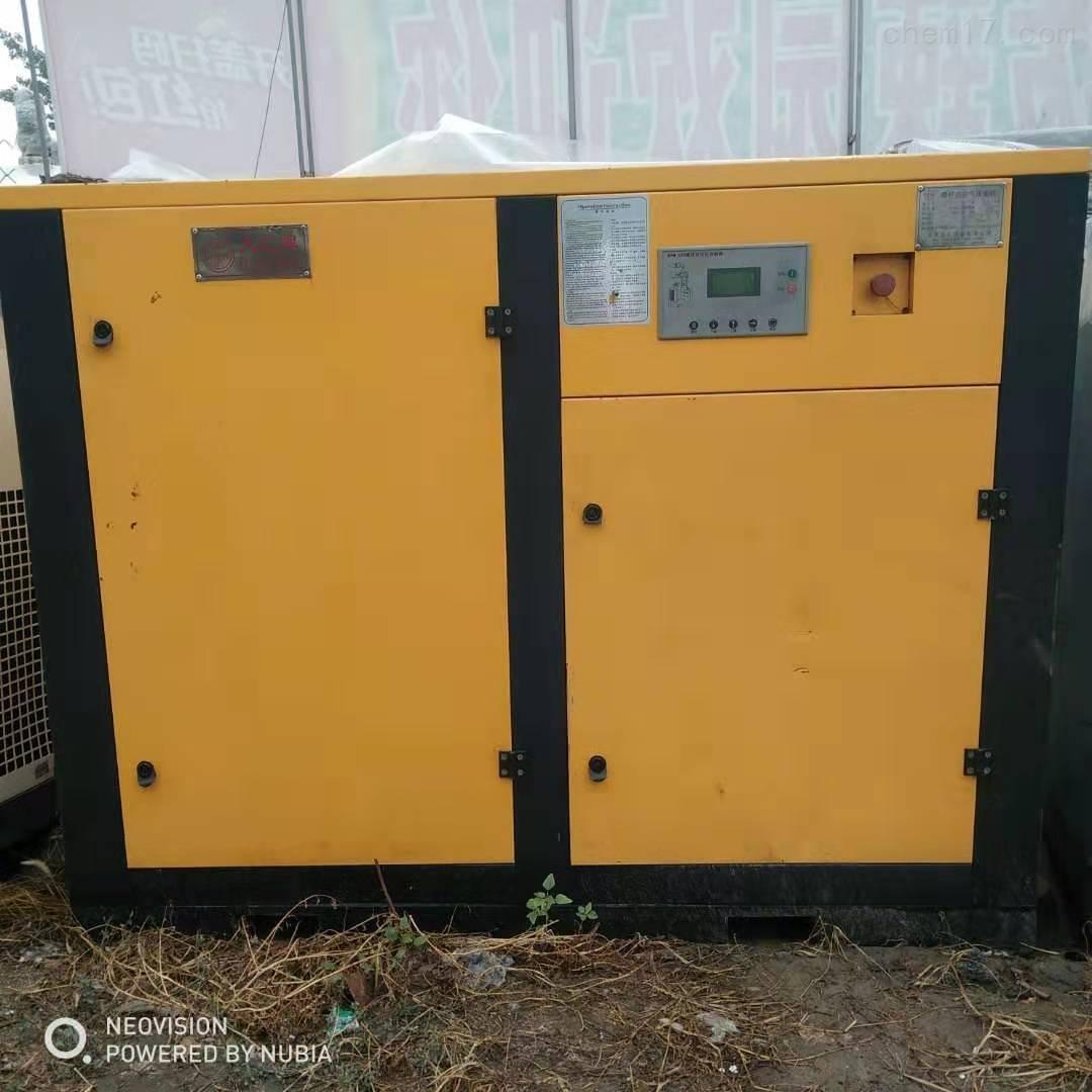 回收出售节能静音二手螺杆空压机厂家价格