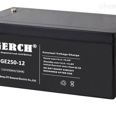 GE80-12 12V80AH美国GERCH GE80-12 12V80AH蓄电池