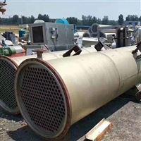 大小齐全全国回收闲置二手钛材质冷凝器