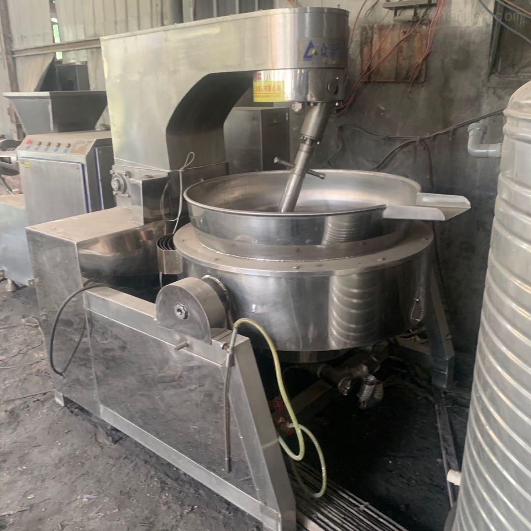 二手液化气加热行星搅拌夹层锅