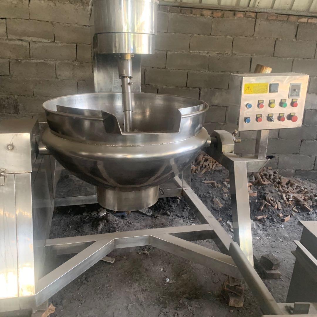 长期回收二手食品厂行星夹层锅