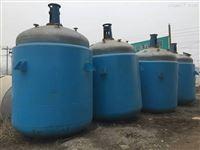 长期出售二手2吨搪瓷反应釜