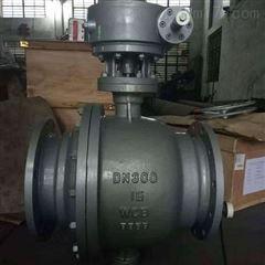 Q341F-16C-300涡轮碳钢固定式球阀