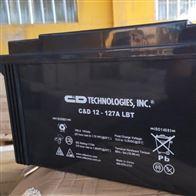 12V127AH大力神蓄电池C D12-127A LBT销售报价