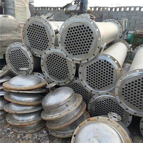 二手高压不锈钢冷凝器品质优良