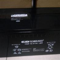 12V211AH大力神蓄电池C D12-211A LBT免维护