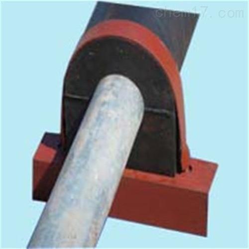 125镀锌管用140保温木质管托