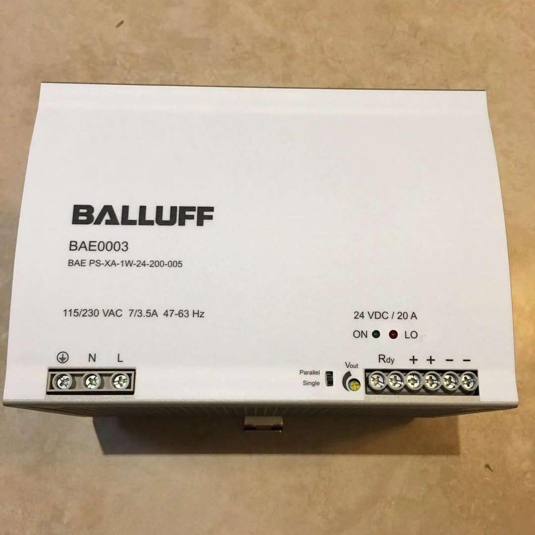 德国BALLUFF电源原装正品
