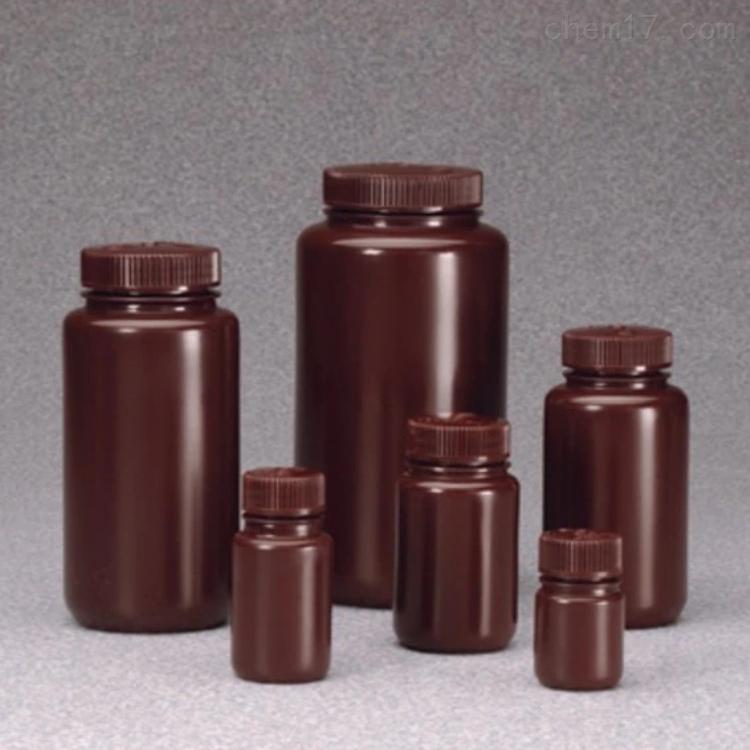 赛默飞世尔 广口不透明棕色 样品瓶