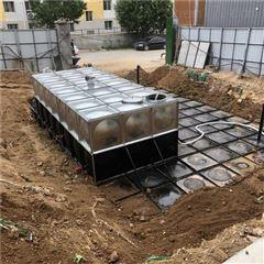 覆土深度对抗浮地埋一体化消防水池影响