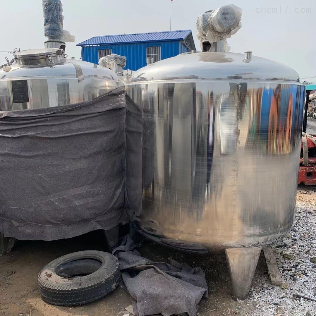 二手3000升蒸汽电加热调配罐 不锈钢储罐