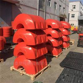 FT600*1000浮式警示拦截塑料拦污水上漂排浮筒