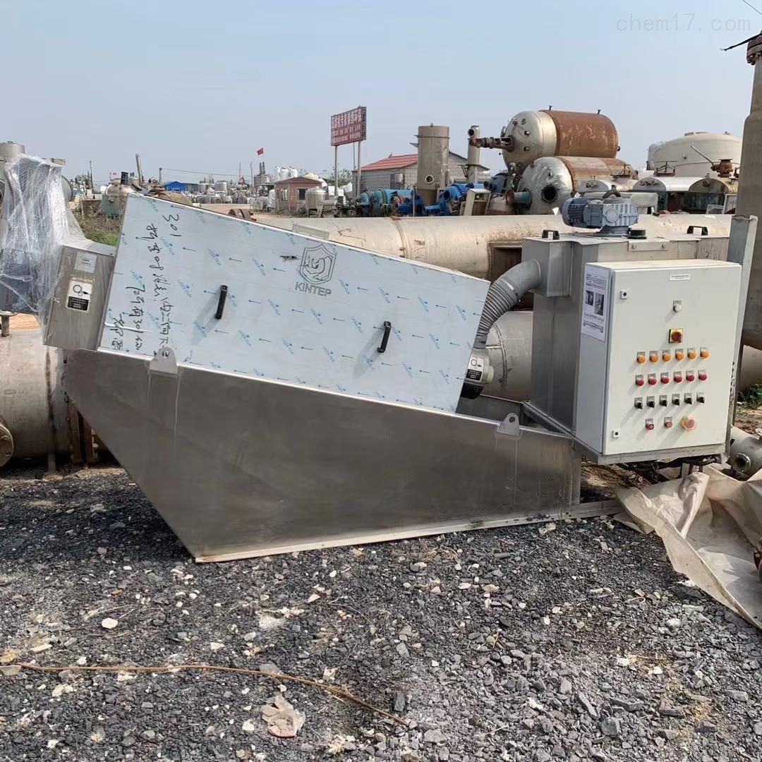 二手401叠螺式污泥脱水机