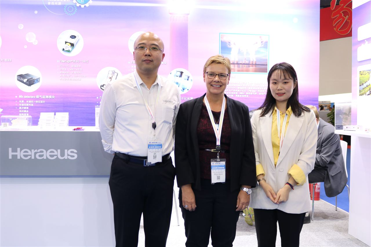 Strategizing and showing the style of famous enterprises�Q�new breakthrough  of   Heraeus Noblelight