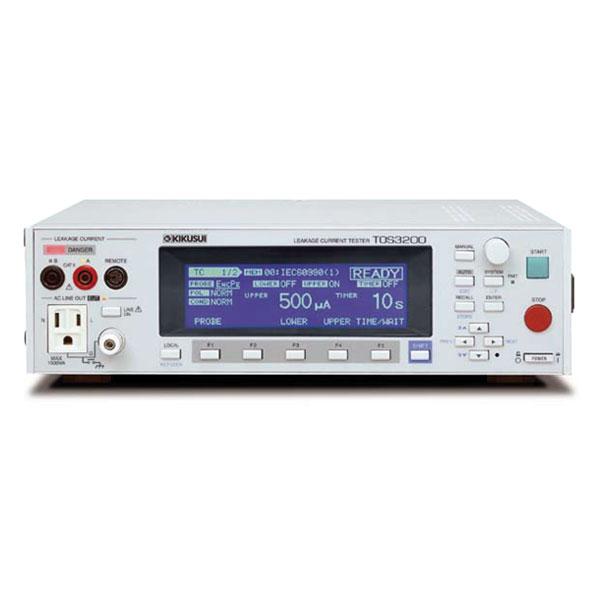 为什么选用日本菊水kikusui泄漏电流测试仪TOS3200系列