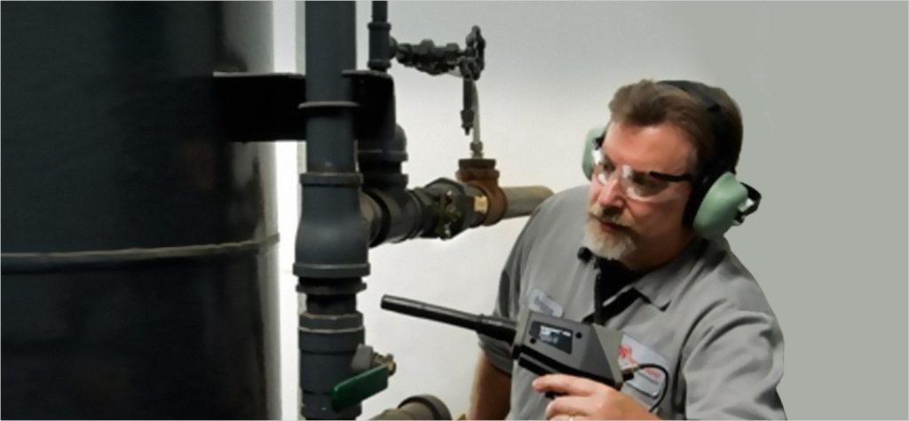 超声波测漏仪检测压缩空气泄漏