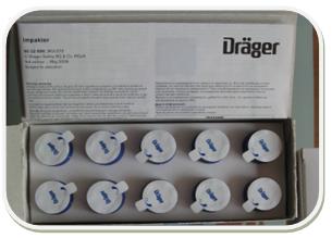 德尔格油检测盒