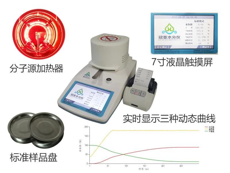 氟石膏快速水分分析仪