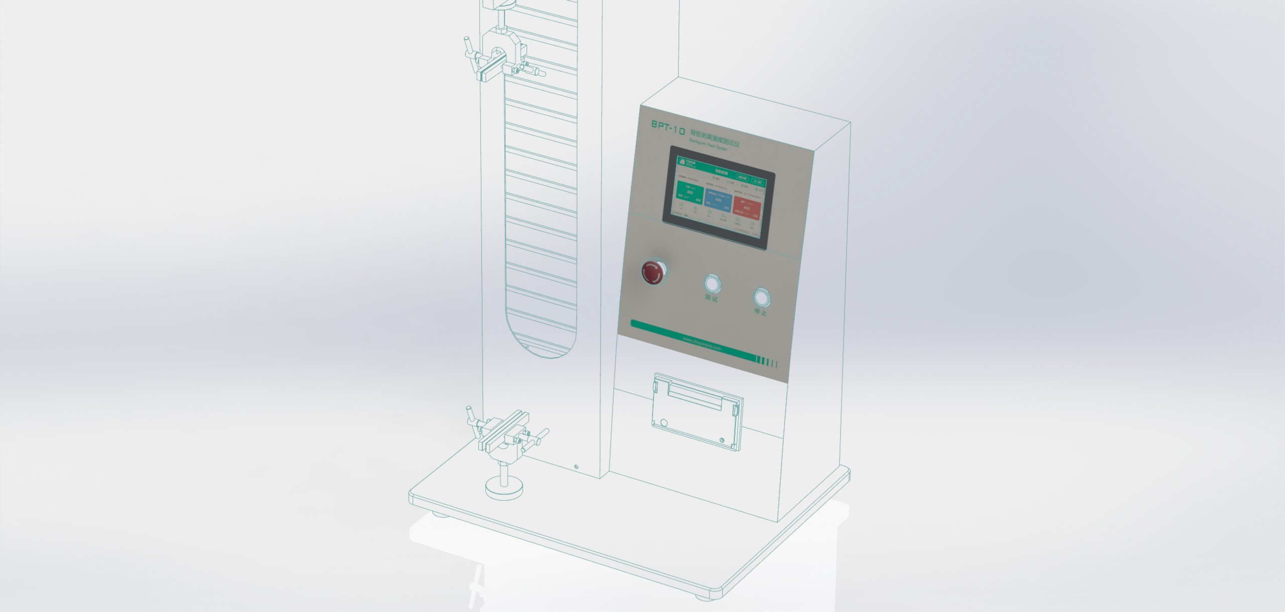 背胶剥离强度测试仪