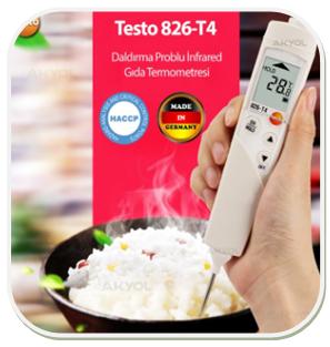食品温度计testo 826-T4